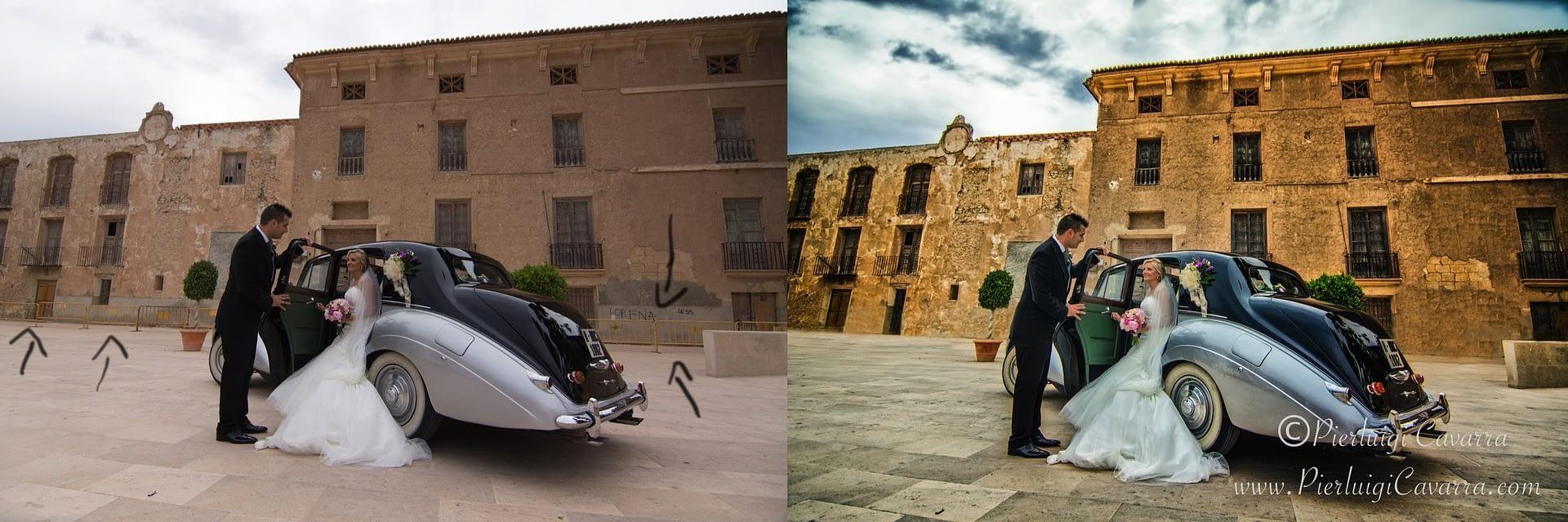 Pierluigi Cavarra - retocador fotografico - retouch before and after